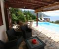 villa ADAM poolside