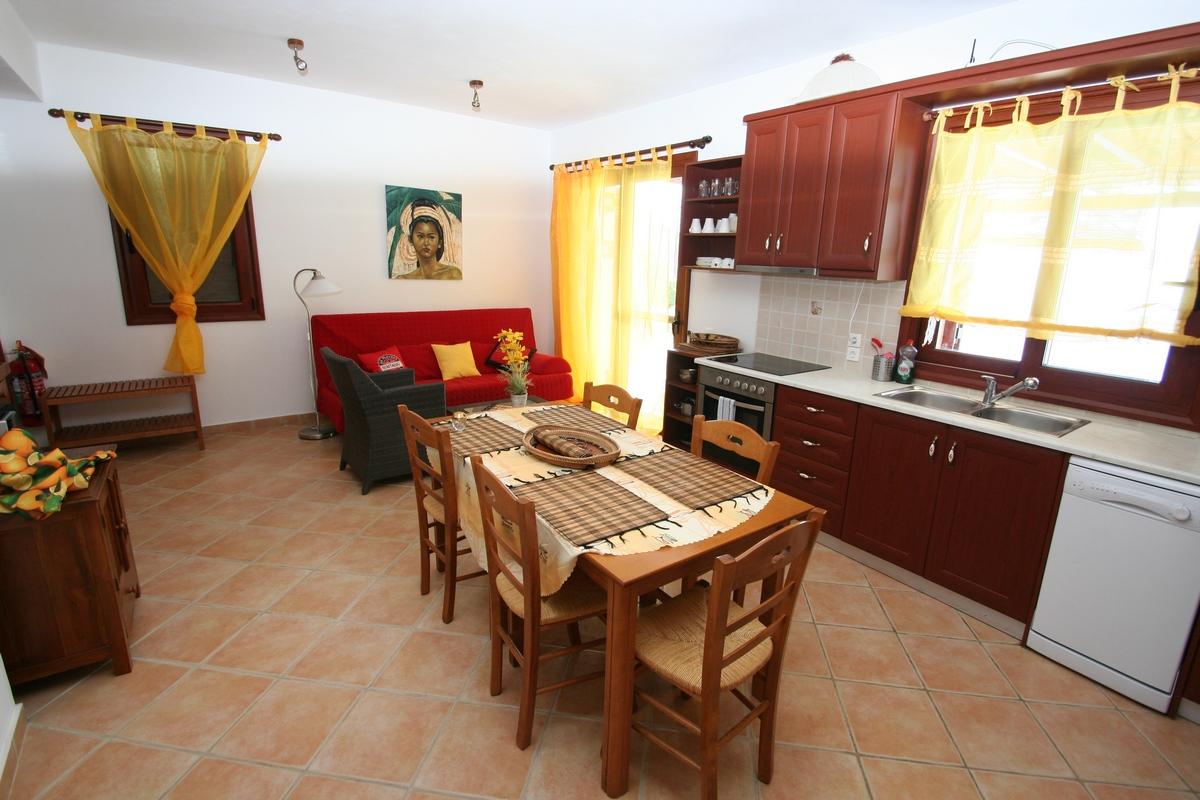 villa ADAM living kitchen