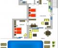 Villa Eva 1st floor plan