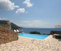 villa Rising Sun poolside