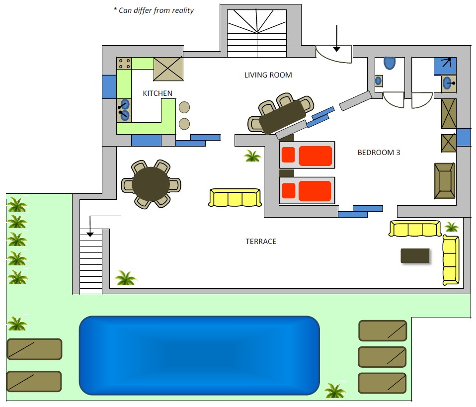 Rising sun 1st floor plan
