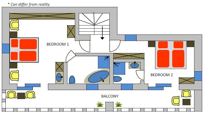 Rising sun 2nd floor plan
