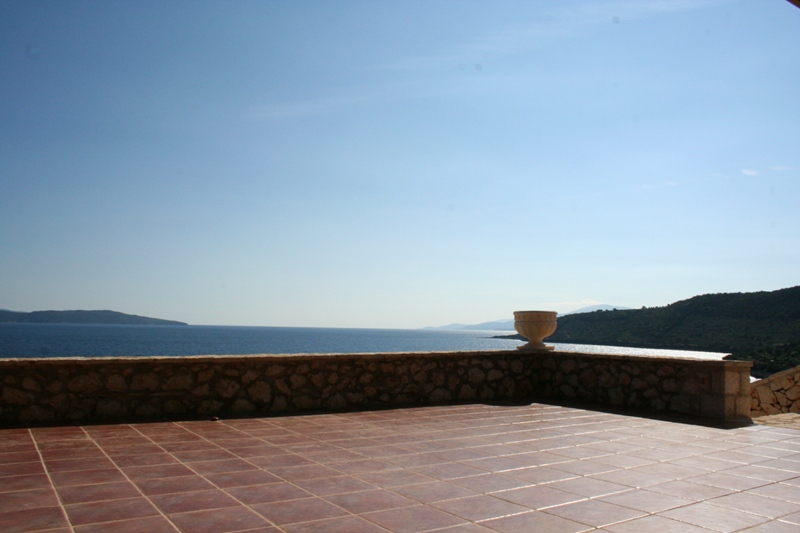 View on Ithaca and Kefalonia