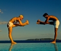bikram yoga  Tereza a Ky Ha