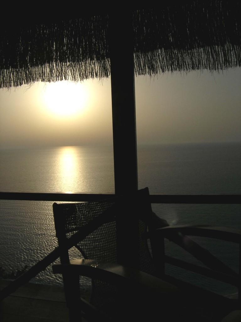 Sunset over Egremni