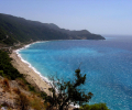 Pefkulia beach and Agios Nikitas