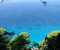 Deep blue waters